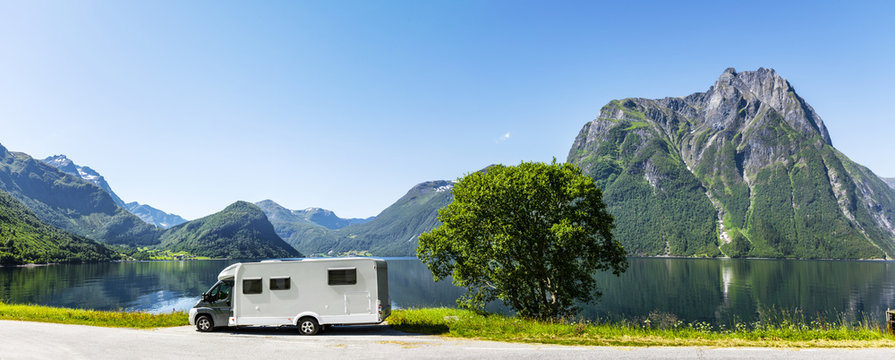 Reisemobil in Skandianvien