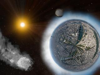 Sonnensystem Paris Planet