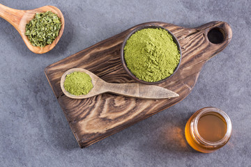 Moringa oleifera with many Benefits, Vitamins, Minerals and Multiple Medicinal Properties for the body