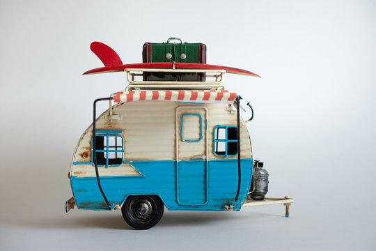 Wohnwagen und Camping im Urlaub