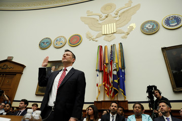 FBI Deputy Assistant Director Strzok testifies before joint House hearing on Capitol Hill in Washington