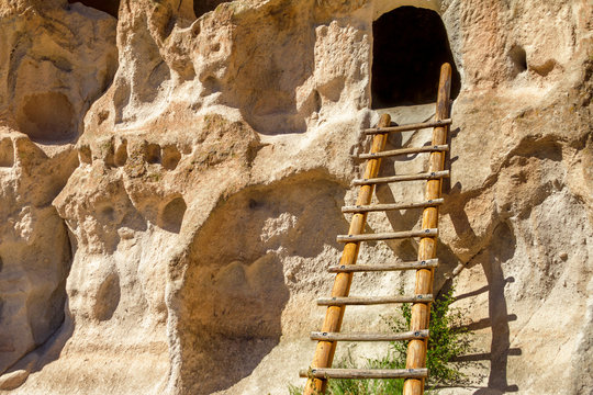 Bandelier National Monument Native American Dwelling