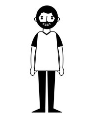man character male cartoon image
