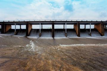 Flood, Thailand, Dam, Water, Hydroelectric Power