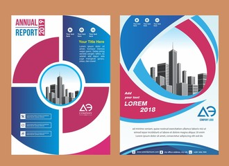creative cover, layout, brochure, magazine, catalog, flyer for event