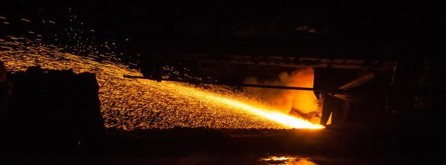 Pig iron - metallurgical production.