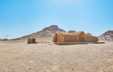 Ancient architecture of Zoroastrians, Yazd, Iran
