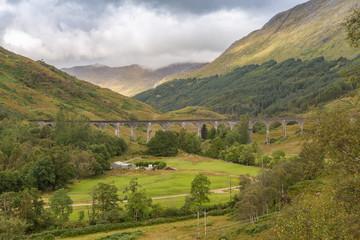 Glenfinnan Viaduct, West Highland Line, Scotland