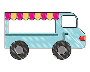 food truck vehicle business image