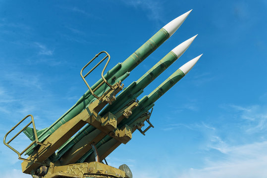 Weapons of mass destruction. Ballistic missiles are ready to launch.