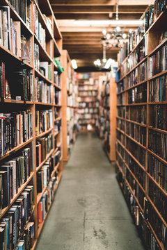 Pasillo biblioteca