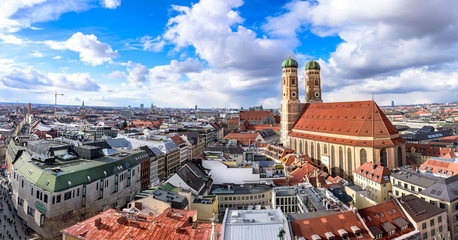 München über den Dächern