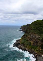 Coast line of Azores