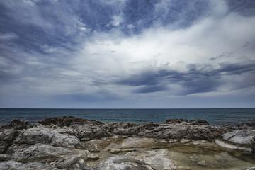 Sicilian Coast at Sicily, Italy near Cefalù