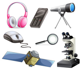A Set of Technology Equipments