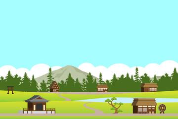 集落の風景