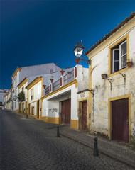 Rue à Abrantes, Ribatejo, Portugal