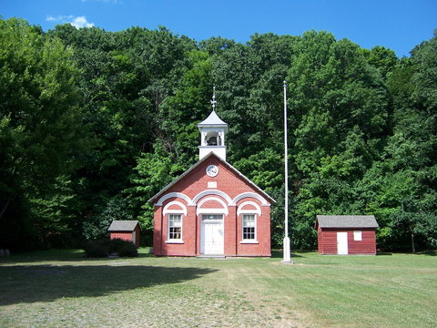 The Little Red School House in Coeymans Hollow, NY