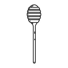 line honey dipper kitchen tool style