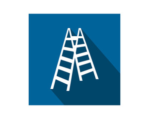 folding chair construction repair fix engineering tool equipment image vector icon logo