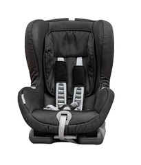 Child car seat, isolated on white.