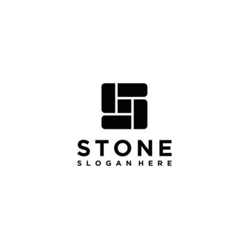 S stone logo design