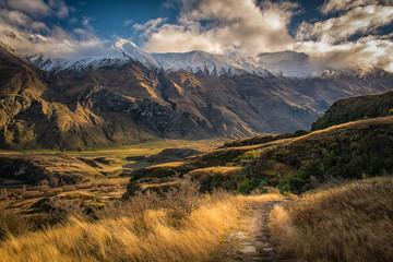 Wall Mural - New Zealand Travel Wanaka Mountain View