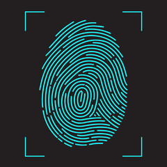 Finger-print Scanning Identification System.