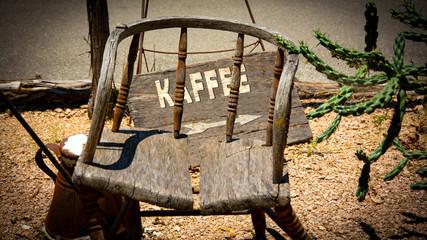 Schild 335 - Kaffee
