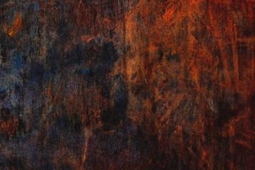 Corten steel texture, weathering steel background, orange and brown pattern