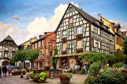 KAYSEREBERG: One of the most beautiful villages of France, Alsace