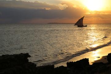 Dhow in Sansibar
