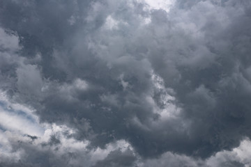 Dark clouds before the storm