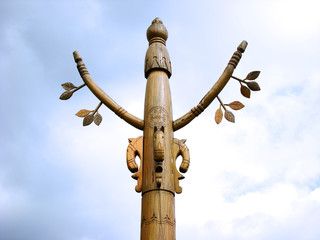 Yakut ancient pagan pillar.