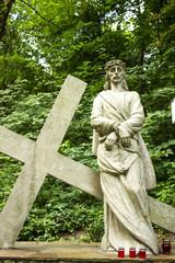 Jesus Christ under the cross