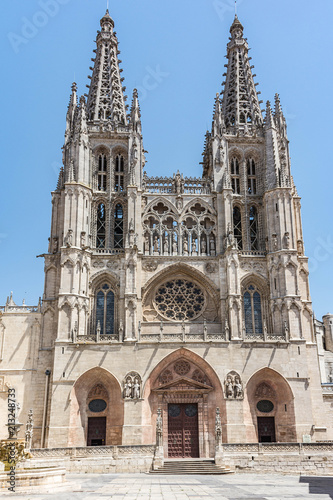 The cathedral of Burgos, one of the most majestic gothic