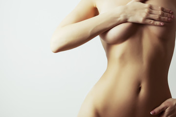woman breasts plastic augmentation
