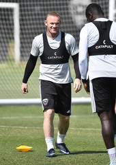 MLS: D.C. United-Wayne Rooney Training