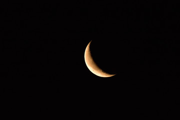 mond, mondsichel, sichel, licht, nacht, himmel, all, cosmos, universum, planet, satellit, erdtrabant, lunar, mondschein, hell, dunkelheit, leuchten, welt, luna, schönheit, krater, mondkrater, beobacht