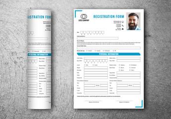 Registration Form Layout