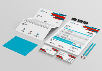 Stationery Layout Set