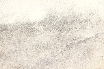 White Sandpaper Attrition Rubbing Texture. Rough Grit Abrasive Background. Used Grain Emery Backdrop. Wall mural