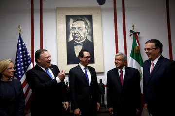 U.S. Secretary of State Mike Pompeo visits Mexico