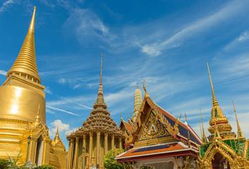 Temple Wat Phra Kaew Bangkok, Thailand.