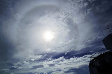ハロ現象・日暈