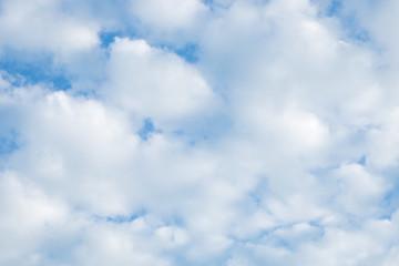 Pastel blue sky cloud beautiful nature background.