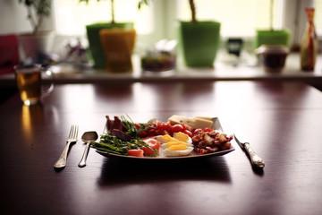 food meal serving table restaurant