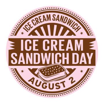 Ice Cream Sandwich Day