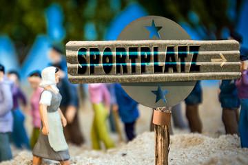 Schild 310 - Sportplatz