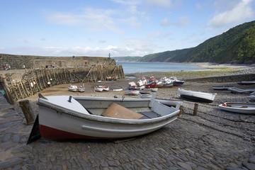 Low Tide in Clovellys Harbour